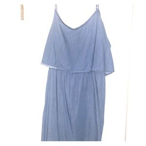 BUNDLE! Denim dress and top!
